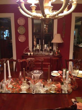 GreenRose of Raus: Dinner room