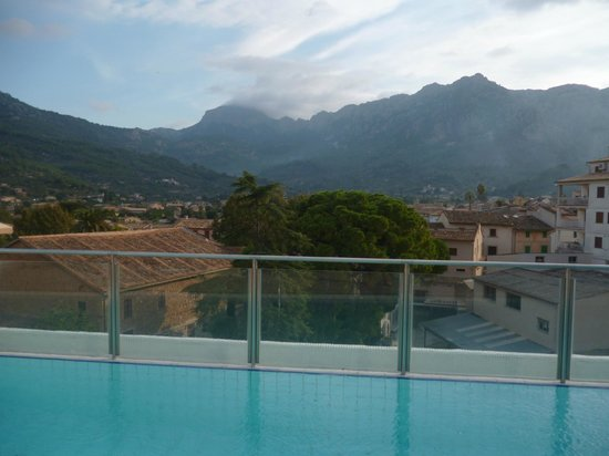 Gran Hotel Sóller: Rooftop view