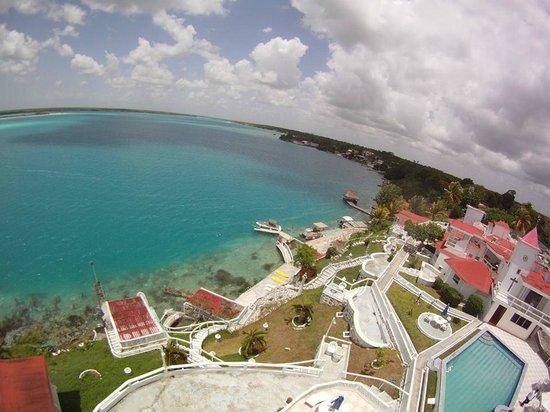 El maravilloso hotel laguna bacalar picture of hotel for Villas wayak bacalar