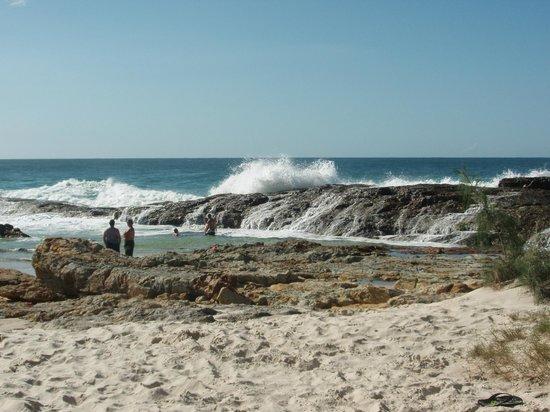 Moreton Island Tourist Services: Champagne Pools