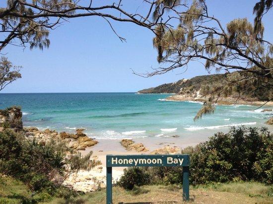 Moreton Island Tourist Services: Honeymoon Bay
