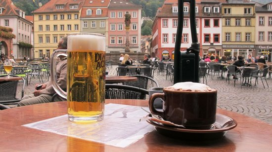 Marktplatz: Coffee and Beer