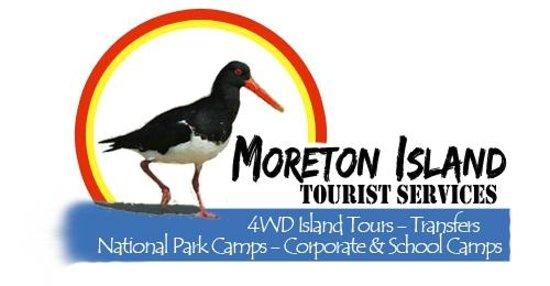 Moreton Island Tourist Services: Moreton Island Business Logo