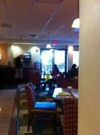 Holiday Inn Express Boston : Zona del desayuno