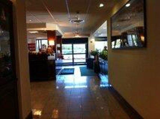 Holiday Inn Express Boston : Lobby: vista desde adentro