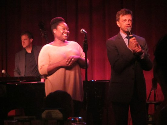 Birdland: Jim Caruso with Yvonne Simone - she's a standout talent.