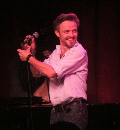 Birdland: Australian Matthew Newtown performed brilliantly