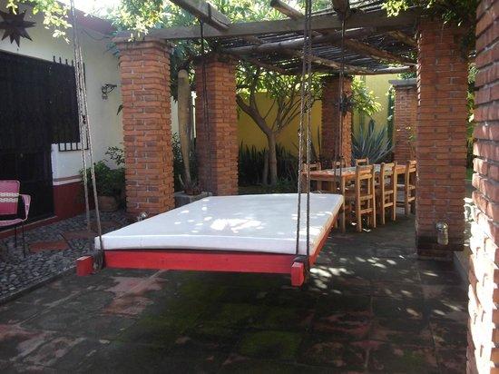 Casa Alvarada: patio del hotel