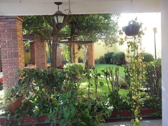 Casa Alvarada: jardin del hotel