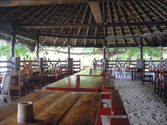 Chez Batista Villas Restaurant: Salle principale du resto