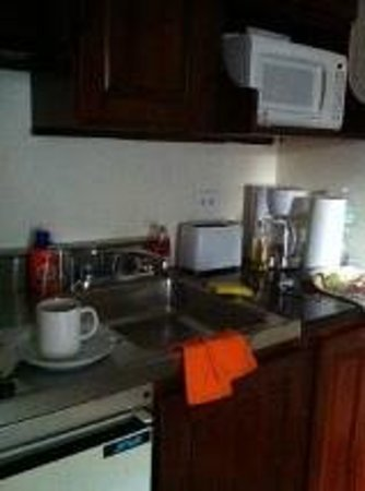 Metro Apartments: Habitación: cocina