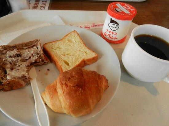 Miyajima Coral Hotel : Breakfast