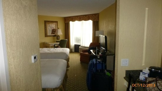 Hilton Galveston Island Resort: 1st floor 2 double bed room