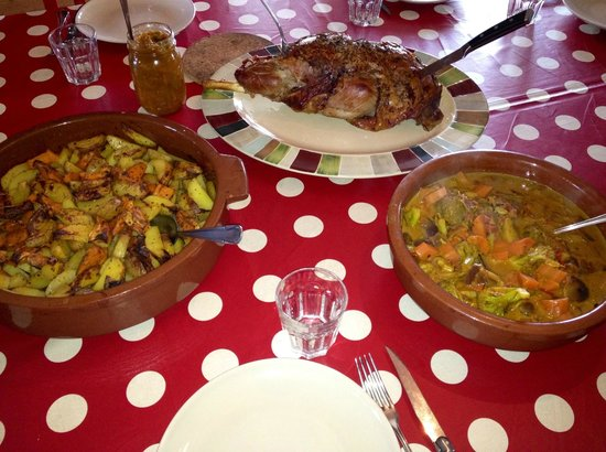 Hrifunes Guesthouse: Dinner