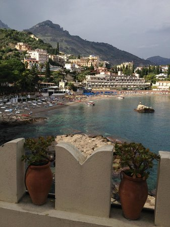 Belmond Villa Sant'Andrea : View from our patio on the 3rd floor