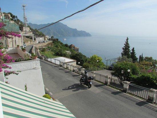 Locanda Costa d'Amalfi: View form the balcony