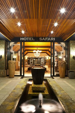 Safari Hotel: Hotel Safari Reception Entrance