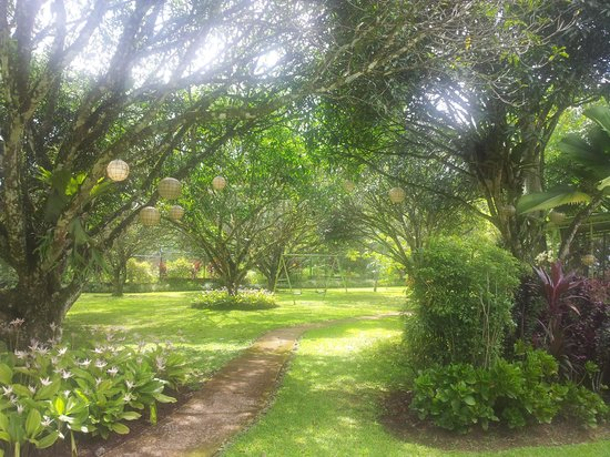 Bukidnon Country Lodge: Well maintained garden