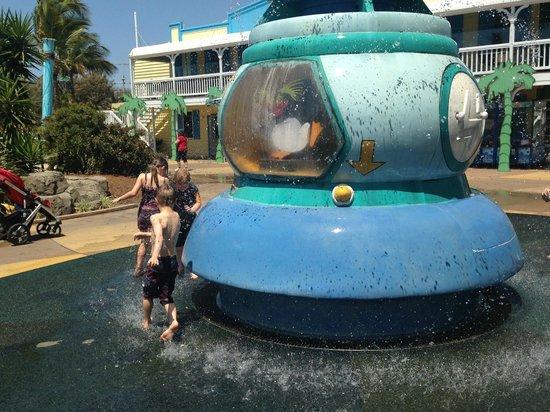 Sea World: water play