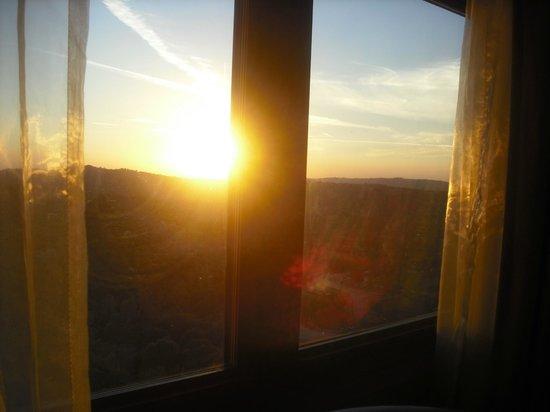 Chukchansi Gold Resort & Casino: Sunset view
