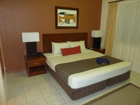 Wyndham Resort Denarau Island : main bedroom 2 bed apartment