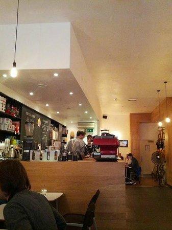 Bold Street Coffee: a side view