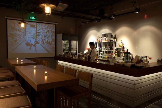 basement bar