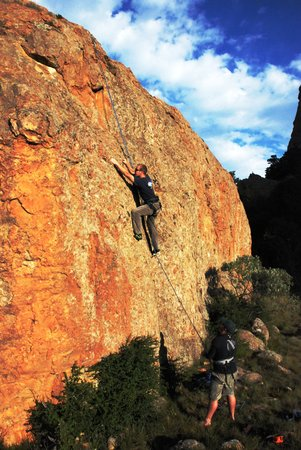 Itchyfeet SA: Rock climb Swinburne, Free State, South Africa