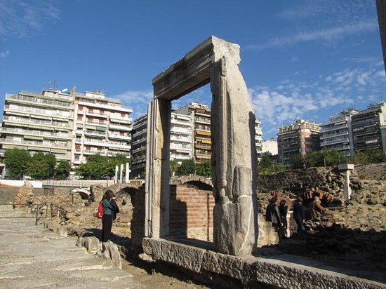The Greek Agora and Roman Forum : Gate to the past...