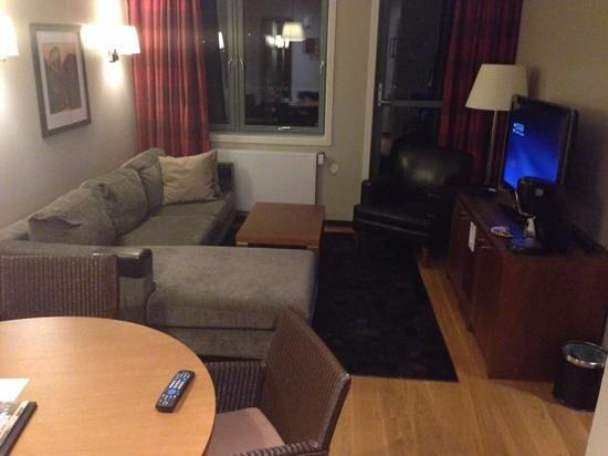 Scandic Sunnfjord Hotel & Spa: room entrance