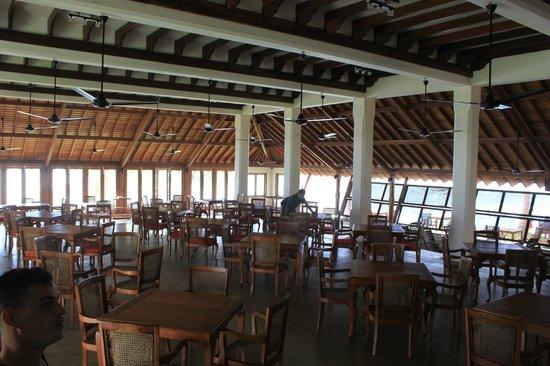 Saman Villas: Restaurant