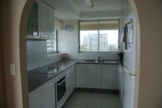 Surfers Beachside Holiday Apartments: Apt 1101 - kitchen