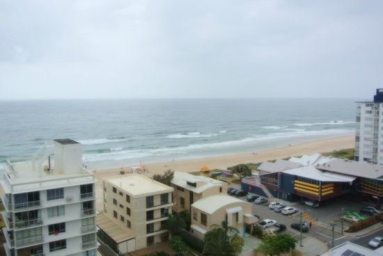 Surfers Beachside Holiday Apartments: Apt 1101 - view from the family area