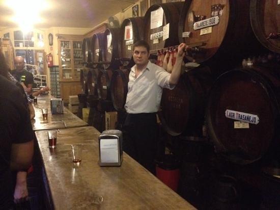 Antigua Casa de Guardia : selection of sherries