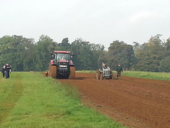 A Day in the Country: Cultivating and ploughing