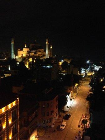 Adamar Hotel : Roof Top view of the Hagia Sophia