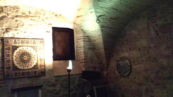 Cantina dell'Arte: stanza tv adiacente la Hall