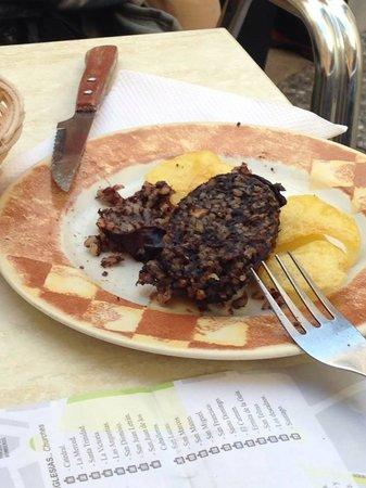 Meson del Asador: Quite the best morcilla ever tasted!