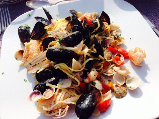 Restaurant Pic Nic Gourmet : Le splendide linguine senza glutine per i celiaci