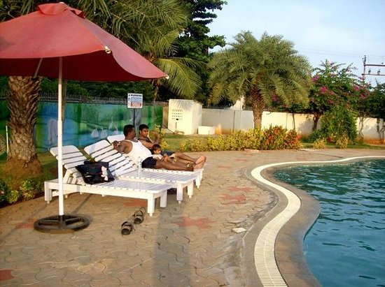 The pool picture of mgm vailankanni residency Hotels in velankanni with swimming pool