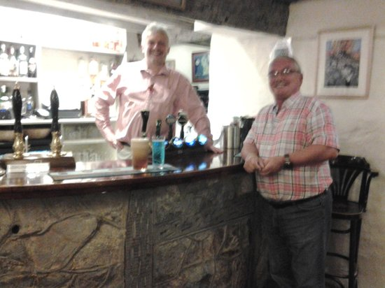 The Lion Inn: At the bar with Tim