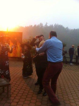 Agriturismo Abbadia Borgo del Sole: Festa delle Masche