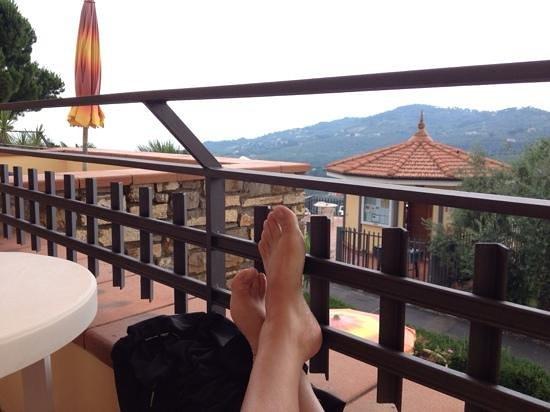 Hotel Liliana: Værelse med udsigt