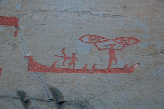 Rock carvings picture of alta museum world heritage