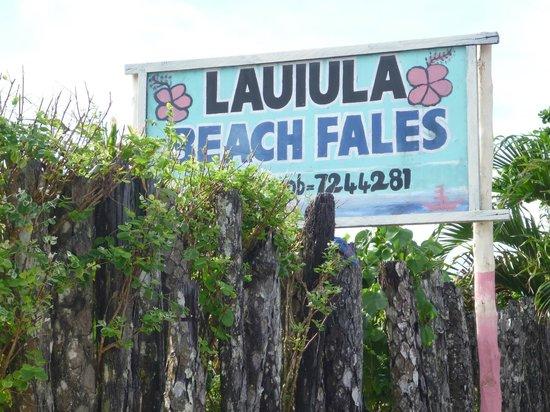 Lauiula Beach Fales: the Samoan way