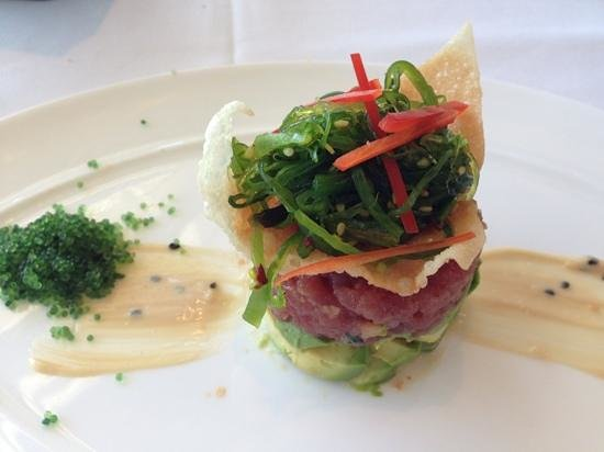 Stillwater Bar & Grill: tuna carpaccio