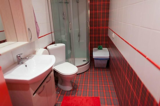 Bakst Hostel on Italyanskaya : ванные европейского уровня