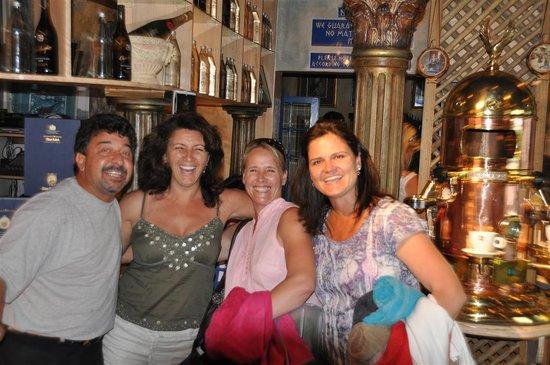 Big Time Taverna: Peri and clients