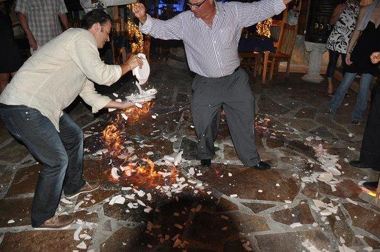 Big Time Taverna: Greek style old years