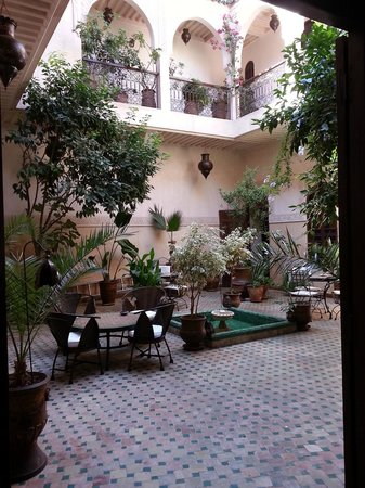 Riad Massiba : patio